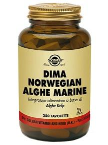 Solgar It. Multinutrient Dima Norwegian Alghe Marine 250 Tavolette