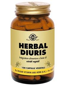 Solgar Herbal Diuris 100 Capsule Vegetali