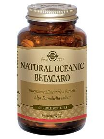 Solgar Natural Oceanic Betacarotene 60 Perle