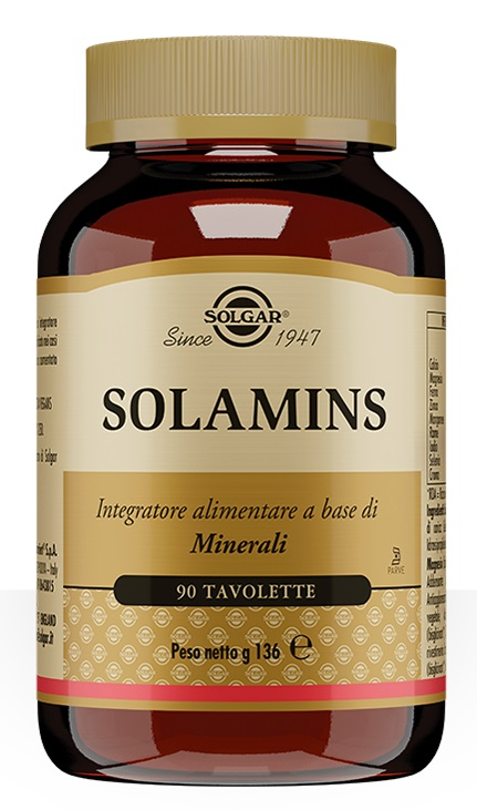 Solgar Multinutrient Solamins 90 Tavolette