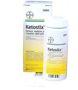 Ascensia Diabetes Care Italy Strisce Misurazione Chetonuria Ketostix 50 Pezzi