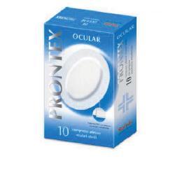 Safety Compressa Prontex Ocular Compressa Adesiva Oculare 10 Pezzi