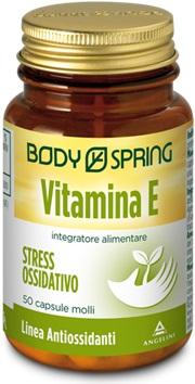 Angelini Body Spring Vitamina E 50 Capsule