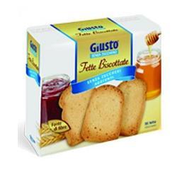 Giuliani Giusto Senza Zucchero Fette Biscottate 300 G