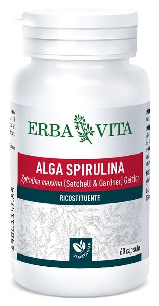 Erba Vita Group Alga Spirulina 60 Capsule 450 Mg
