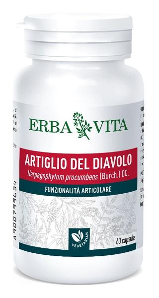 Erba Vita Group Artiglio Diavolo 60 Capsule 500 Mg