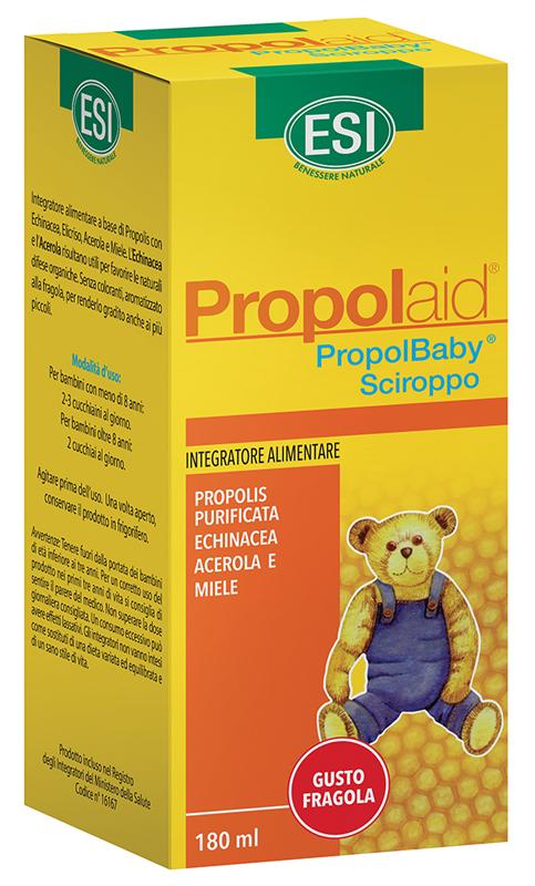 Esi Propolaid Propolbaby Sciroppo 180 Ml