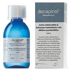 Alliance Pharma Collutorio Decapinol 300 Ml