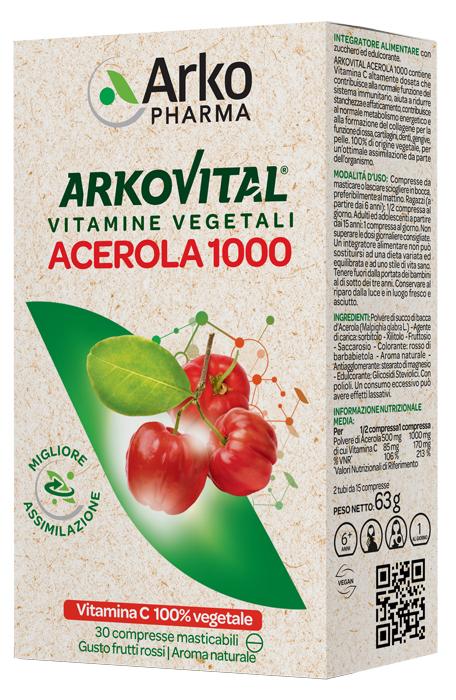 Arkofarm Acerola 30cpr Masticabile