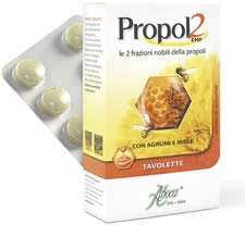 Aboca Societa Agricola Propol2 Emf Agrumi Miele 30 Tavolette