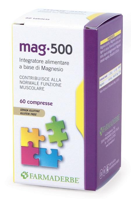 Farmaderbe Mag 500 60 Compresse
