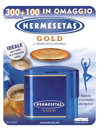 Dompe Farmaceutici Hermesetas Gold 300 100 Compresse 20 G