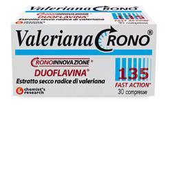 Chemist s Research Valeriana Crono 135 Con Duoflavina Fast Action 30 Compresse