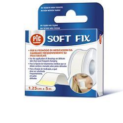 Cerotto In Rocchetto Pic Soft Fix Tessuto Non Tessuto 1 25x500 Cm Con Fustella