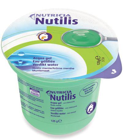 Nutricia Italia Nutilis Aqua Gel Menta 125 G 12 Pezzi