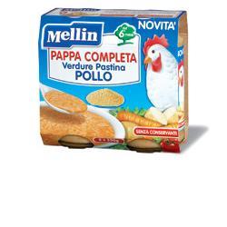 Mellin Pappa Completa Pollo 250 G 2 Pezzi