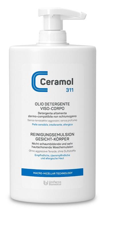 Ceramol Olio Detergente Viso/corpo 400 Ml