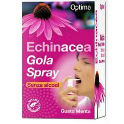 Optima Naturals Echinacea Gola Spray Senza Alcool 20ml