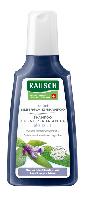 Rausch Ag Kreuzlingen Rausch Shampoo Lucentezza Argentea Alla Salvia 200 Ml
