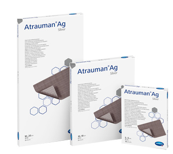 Paul Hartmann Medicazione Con Argento Atrauman Ag 5x5cm 10 Pezzi