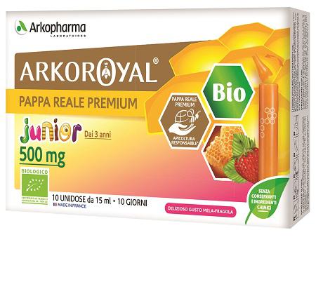 Arkofarm Pappa Reale Biologica 500 Mg 10 Unica Dose