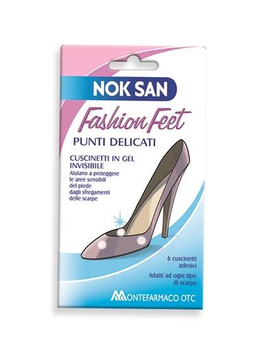 Montefarmaco Otc Nok San Fashion Feet Punti Delicati 6 Pezzi