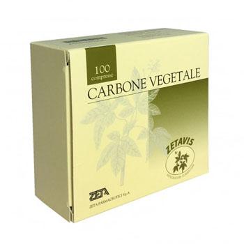 Zeta Farmaceutici Zetavis Carbone Vegetale 40 Compresse