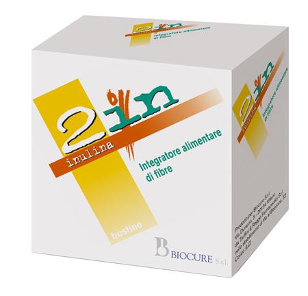 Biocure 2in Fibra Solubile 20 Bustine 50 G