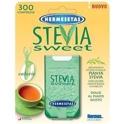 Dompe' Farmaceutici Hermesetas Stevia 300 Compresse