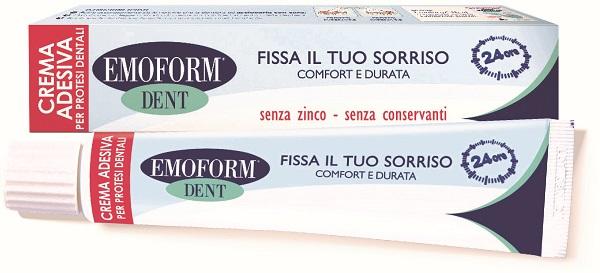 Polifarma Benessere Emoform Dent Crema Adesiva Per Protesi Dentale 45 G