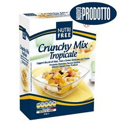 Nt Food Nutrifree Crunchy Mix Tropicale 375 G 1 Pezzo