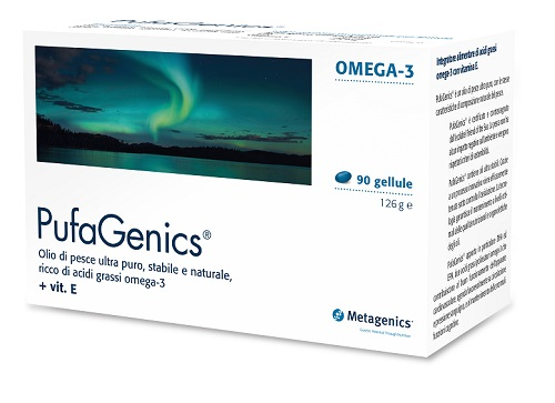 Metagenics Belgium Bvba Pufagenics Ita 90 Capsule