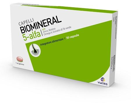 Meda Pharma Biomineral 5 Alfa 30 Capsule