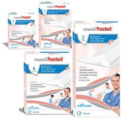 Corman Medicazione Medipresteril Post Operatoria Delicata Sterile 10x25 3 Pezzi