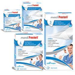 Medicazione Medipresteril Post Operatoria Impermeabile Sterile 7 5x10cm 4 Pezzi
