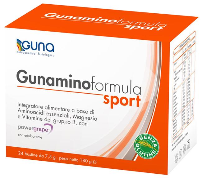 Gunamino Formula Sport 24 Buste 180 G