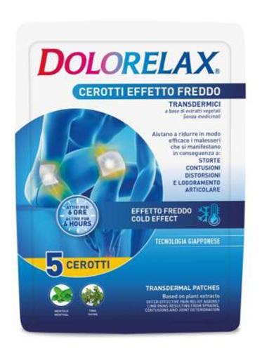Dolorelax Cerotto Effetto Freddo 5 Pezzi