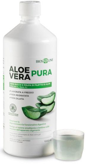Bios Line Biosline Aloe Vera Succo Polpa 1 Litro