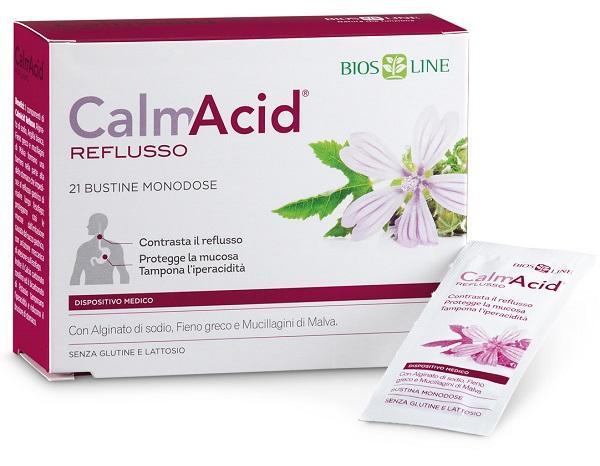 Bios Line Biosline Calmacid Reflusso 21 Bustine Monodose