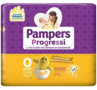 Fater Pampers Micro Pannolini Per Bambini 24 Pezzi