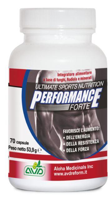 A.v.d. Reform Performance Forte 70 Capsule Flacone 53,9 G