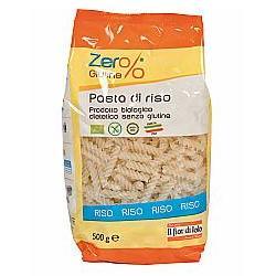 Zero% Glutine Pasta Riso Fusilli Senza Glutine Bio 500 G