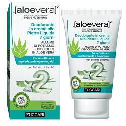 Zuccari Aloevera2 Deodorante In Crema Alla Pietra Liquida 7 Giorni