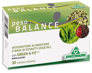 Specchiasol Peso Balance 30 Capsule Vegetali