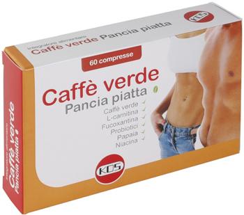 Kos Caffe Verde Pancia Piatta 60 Compresse