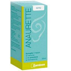 Zambon Italia Spray Irrigatore Per La Rimozione Del Cerume Anaurette 30 Ml