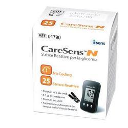 Exxe Strisce Misurazione Glicemia Caresens N 25 Pezzi