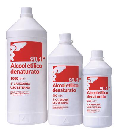 Nova Argentia Ind. Farm Alcool Etilico Denaturato 90 1 250 Ml