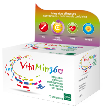 Sofar Vitamin 360 Multivitaminico Multiminerale 70 Compresse