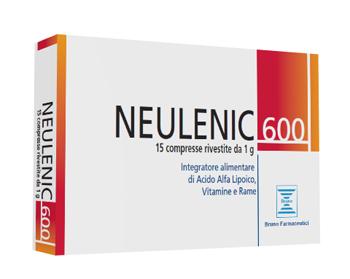 Bruno Farmaceutici Neulenic 600 15 Compresse